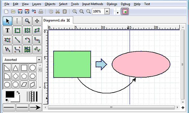 Crear  diagramas  de  flujo  con  DIA