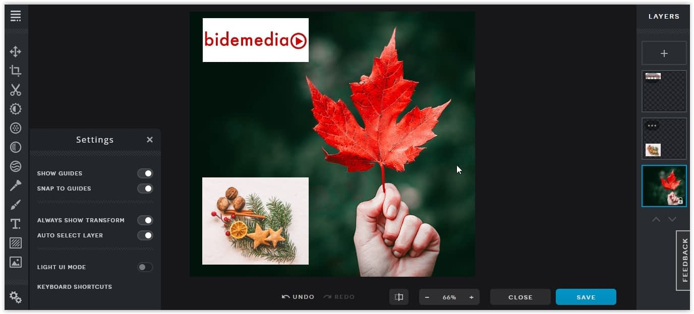Photo editor online PIXLR